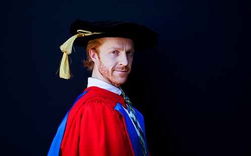Trioperas congratulates their Star Choreographer Steven McRae on being awarded Honorary Doctor of Letters.